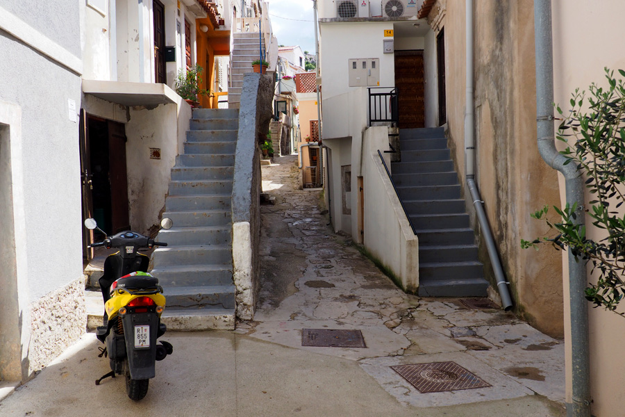 Small lanes of Baška