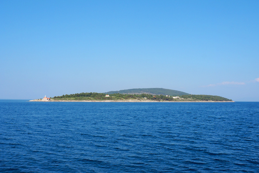 Hvar Island from the south