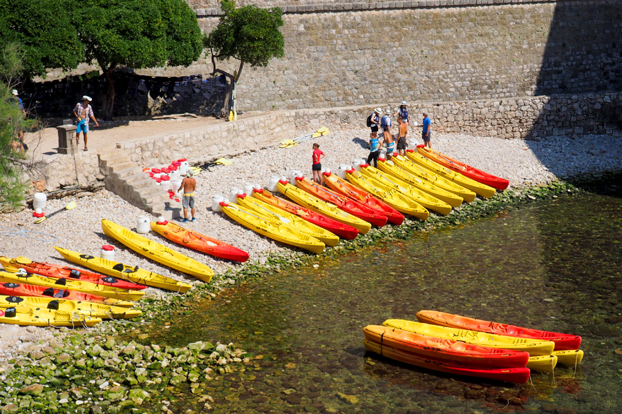 Kayaks for the open Sea