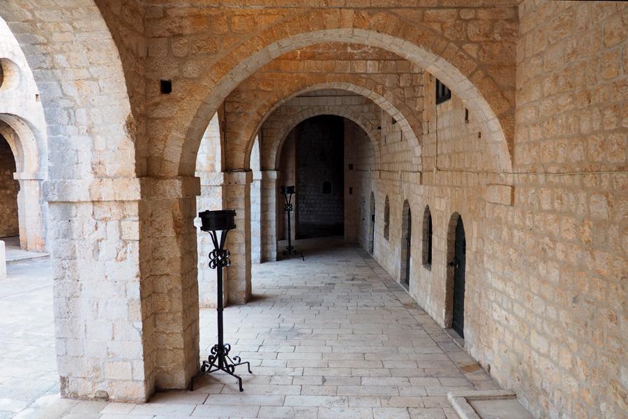 Inside Lovrijenac (St. Lawrence Fortress)