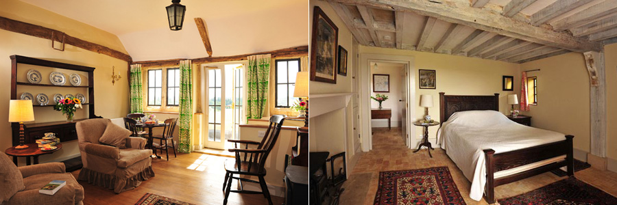 Inside the Warren House (photos courtesy of The Landmark Trust)